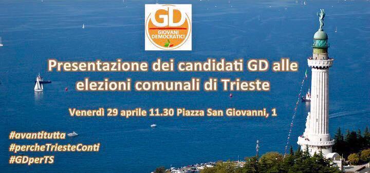 Presentazione candidati GD Trieste