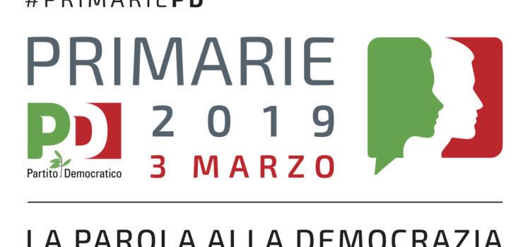 PRIMARIE 3 marzo 2019: iscriviti online!