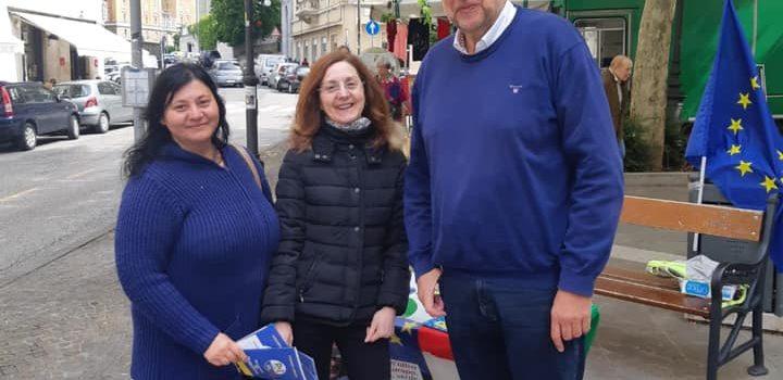 Il Pd con i cittadini: tutti i nostri banchetti a Trieste e nei comuni