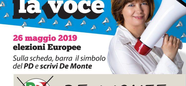 Isabella De Monte: un voto per il FVG in Europa