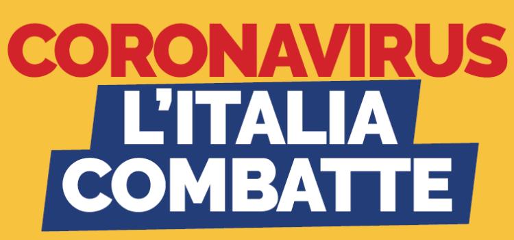 Il PD sta con l'Italia che combatte per fermare il #coronavirus